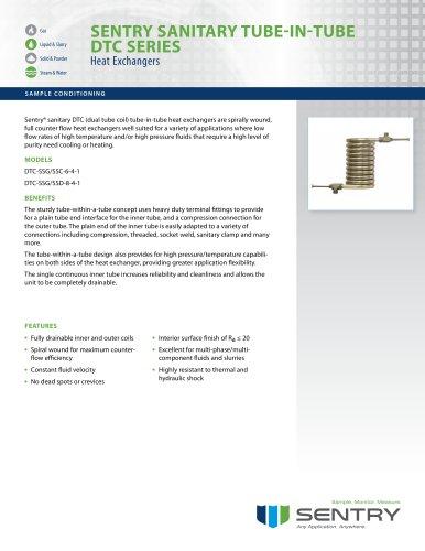 Dual Tube Coil Sanitary