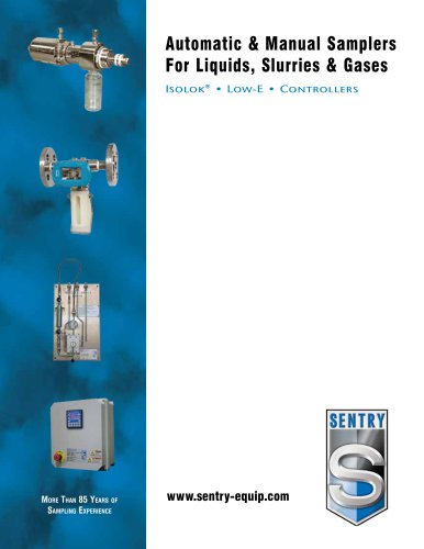 Guide to Gas, Liquid and Slurry Samplers