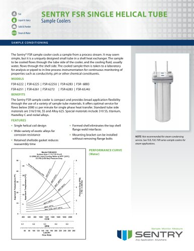 Sample Cooler FSR (special materials)