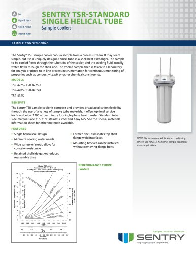 Sample Cooler TSR (standard materials)
