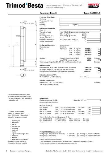 Data Sheet 34000E-A