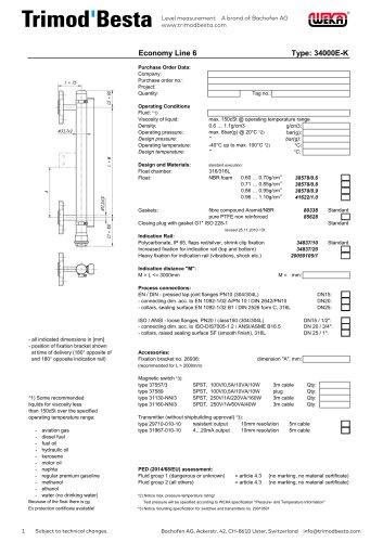 Data Sheet 34000E-K