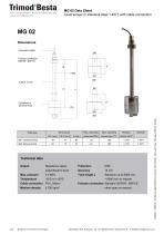 Data Sheet MG 02