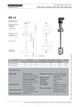 Data Sheet SR 12