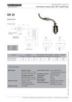 Data Sheet SR20