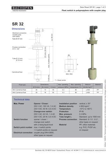 Data Sheet SR32
