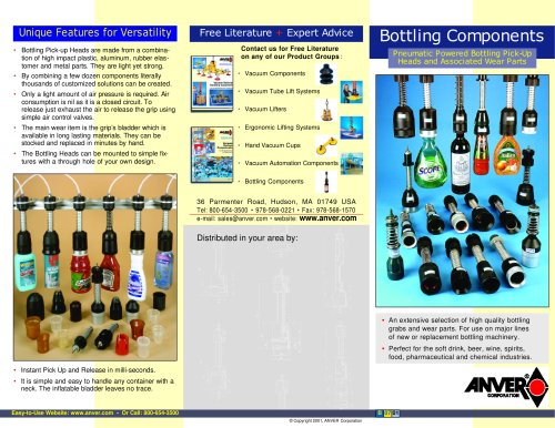 Bottling Components