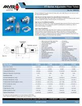 FT-Series Adjustable Flow Tubes