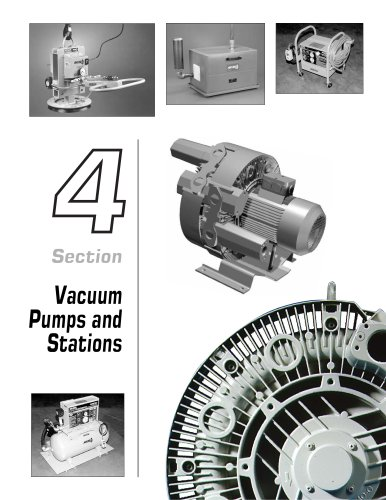 Vacuum Pumps & Sytations