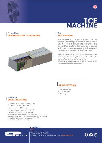 Ice Machine - EP MECA