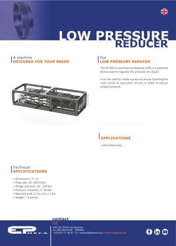 Low Pressure Reducer - EP MECA
