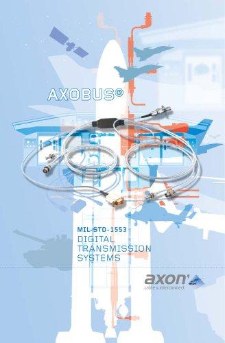 Axobus, mil-std-1553 data transmission