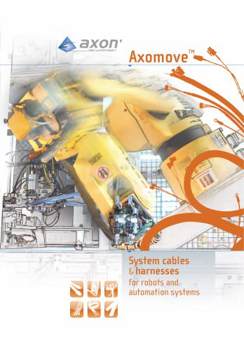 Axomove, cables and harnesses for robots