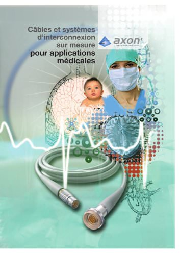 Custom designed cables and interconnect systems for medical applications