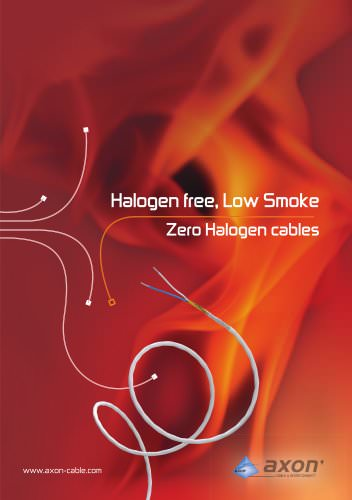 Halogen free, low smoke and fire hazard cables