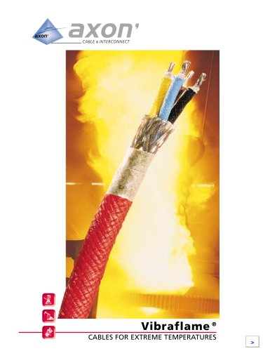 Vibraflame®, cables for extreme temperatures