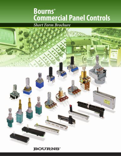 Bourns® Commercial Panel Controls