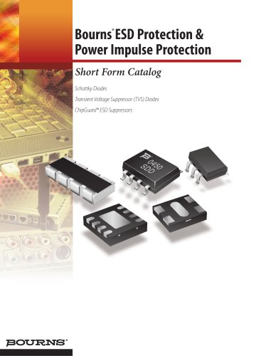 Bourns® ESD Protection & Impulse Protection Short Form Catalog