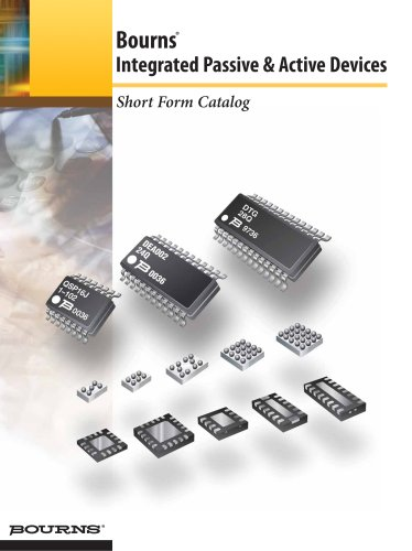 Bourns® Integrated Passive & Active Devices