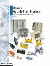 Bourns® Outside Plant Products - 1