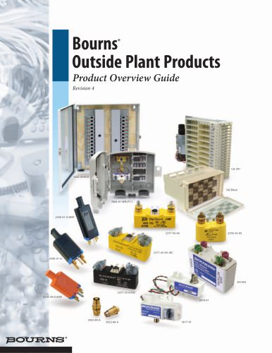 Bourns® Outside Plant Products
