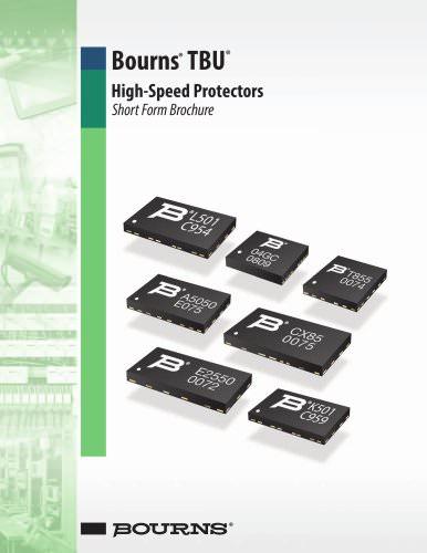 Bourns® TBU® High-Speed Protectors