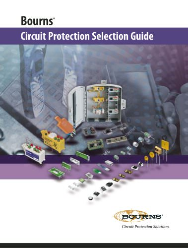 Circuit Protection Selection Guide