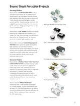Circuit Protection Selection Guide - 7