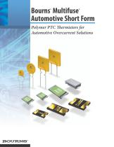 Multifuse® Automotive Short Form Brochure - 1