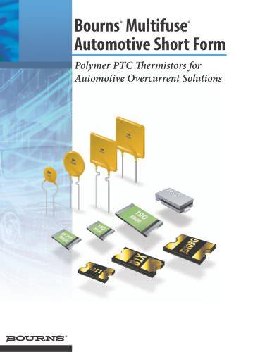 Multifuse® Automotive Short Form Brochure