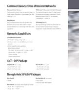 Resistor Networks - 4