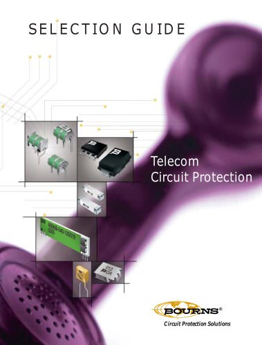 Telecom Circuit Protection Selection Guide