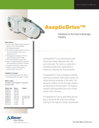 Aseptic Fact Sheet
