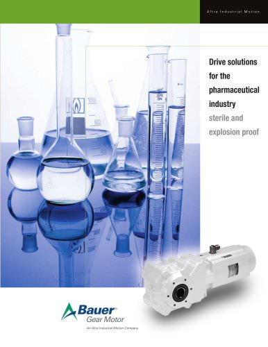 Drive Solutions for the Pharmaceutical Industry
