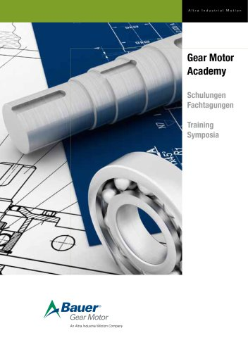 Gear Motor Academy - Program Training and Symposia