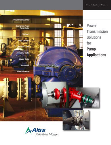 Power  Transmission  Solutions  for Pump  Applications
