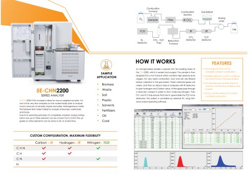 5E C H N Series Analyzer