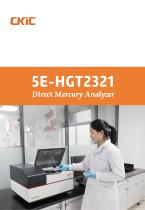 5E-HGT2320 Automatic Mercury Analyzer Mercury analyzer / wastewater / solids / for soil