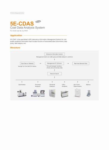 CKIC 5E-CDAS Coal Data Analysis System