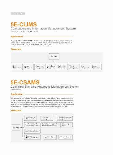 CKIC 5E-CLIMS Coal Laboratory Inforamtion Management System