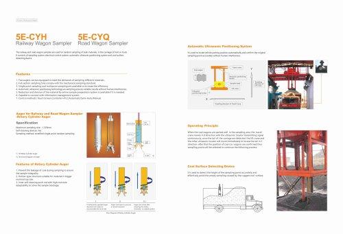 CKIC 5E-CYH Railway Wagon Sampler & 5E-CYQ Road Wagon Sampler