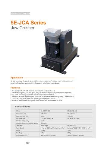 CKIC 5E-JCA Series Jaw Crusher