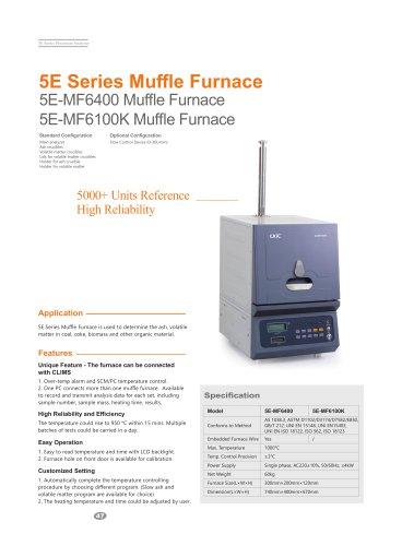 CKIC 5E-MF6100K Muffle Furnace