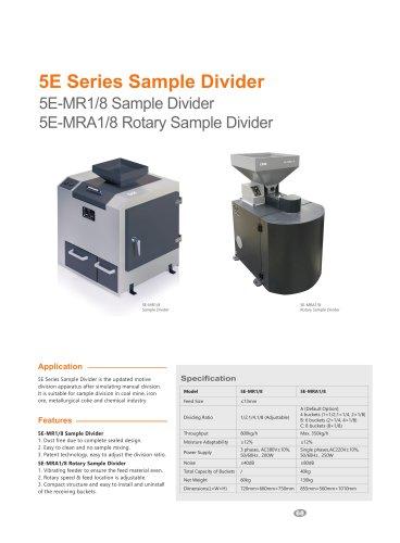CKIC 5E Series Sample Divider