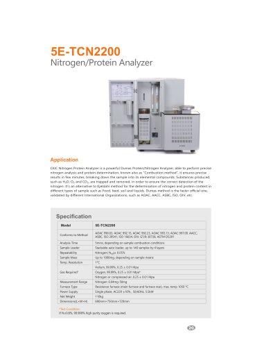 CKIC 5E-TCN2200 Nitrogen-Protein Analyzer