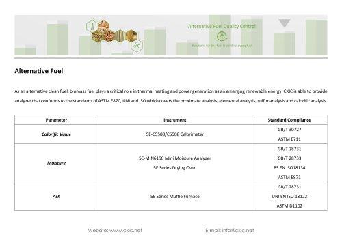 CKIC Application - Alternative Fuel