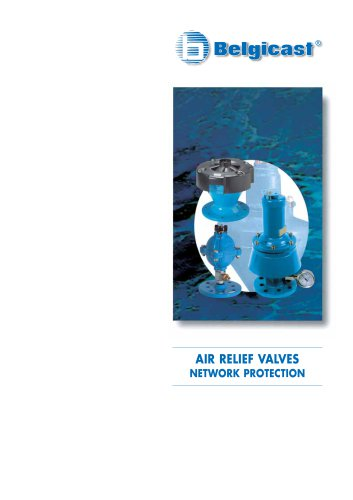 Belgicast Air Relief Valves