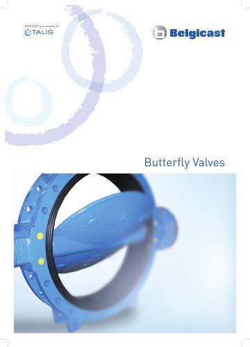 Belgicast Butterfly Valves