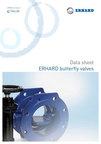 ERHARD butterfly valves