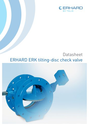 ERHARD ERK tilting-disc check valve